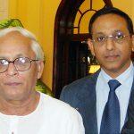 With Fmr. CM Buddhadev Bhattacharjee