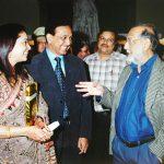 With H.E. Gov. Viren J Shah