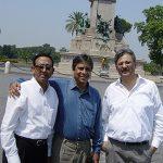 With Soumyo Bandopadhyay and YC Deveswar