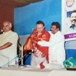 Felicitated by the Malaysian Tamil association