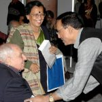 With Russi Modi, an industrialist