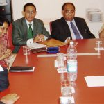 With H.E. Himachal Som, Indian Ambassador to Italy and CM, West Bengal