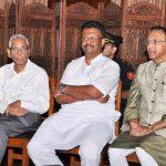 With H.E. Gov. M. K. Narayanan and Firhad Hakim