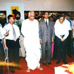 At an inaugural function, with Mr. Somnath Chatterjee, Fmr. Speaker Indian Parliament