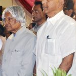 With HE Dr. Abdul Kalam, the former President of India