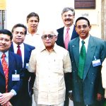 With an Indian Delegation in Italy